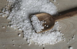 salt trähavstabell royaltyfri fotografi