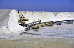 salt transportör Arkivbilder