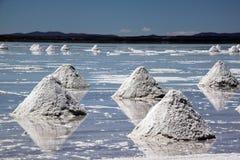 salt uyuni för lake Fotografering för Bildbyråer