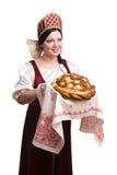 salt välkomnande för bröd Arkivbild
