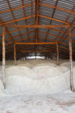 Salt warehouse. Royalty Free Stock Images