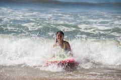 Salt water fun Royalty Free Stock Images