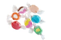 Salt water taffy Stock Photos