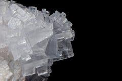 salt white crystals royalty free stock photos