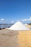 Salt works Stock Image