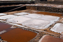 Salt works Stock Images