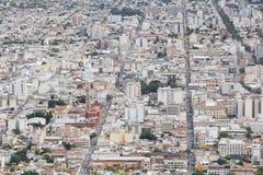 Salta Argentina. View down to the city of Salta, Argentina Stock Photos
