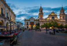 Salta, Argentinien stockbild