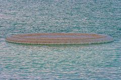 Salta bildande för dött hav Arkivfoto