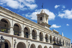 The Salta Cabildo in Salta, Argentina Stock Photos