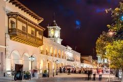 The Salta Cabildo in Salta, Argentina Royalty Free Stock Image