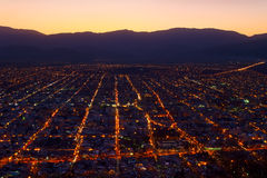 Salta at Dusk Royalty Free Stock Images