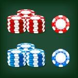 Salta el casino stock de ilustración