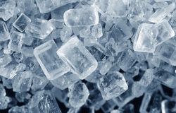 Salta kristaller Royaltyfri Foto