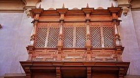 Salta, la Argentina, entrada de la iglesia fotos de archivo