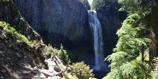 Salta liten viknedgångar i Oregon Arkivbild