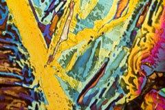 Salta syrliga microcrystals arkivfoton