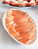 saltad fisk Arkivbilder