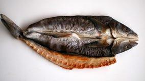 saltad torkad fisk Royaltyfri Bild