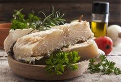 saltade codfish Royaltyfri Bild