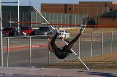 Saltador de poste Fotografía de archivo libre de regalías