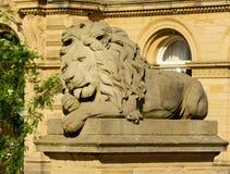 Saltaire lejon - fred royaltyfria bilder