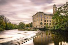 Saltaire mill Royalty Free Stock Image