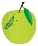Saltamontes del alimento de Apple Fotografía de archivo