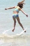 Saltando as ondas Foto de Stock Royalty Free