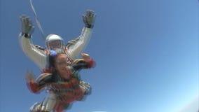 Saltar en caída libre el vídeo metrajes