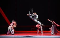 """Saltare il  di Lanfang†di drama""""Mei di alto-ballo Immagine Stock Libera da Diritti"""