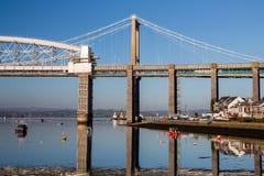 Saltash-Durchgang Plymouth Devon stockfotos