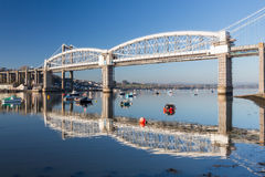 Saltash passage Plymouth Devon Arkivfoto