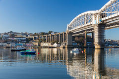 Saltash Passage Plymouth Devon Stock Photos