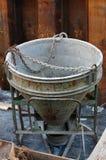 Saltatore del cemento Fotografia Stock