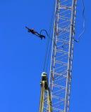 Saltatore dell'ammortizzatore ausiliario Fotografia Stock Libera da Diritti