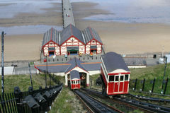 Saltburn cliff lifts. Royalty Free Stock Photo