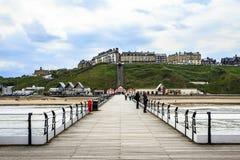 Saltburn pelo mar, North Yorkshire, Inglaterra Foto de Stock Royalty Free