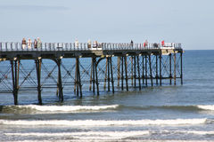 Saltburn Pier Royalty Free Stock Photography