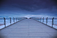 Saltburn Pier at Dawn Royalty Free Stock Photos