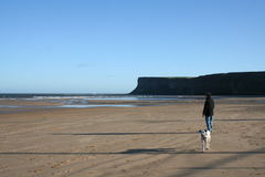 Saltburn by the sea Royalty Free Stock Photos