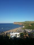 Saltburn By Sea. Photo set from my visit to Saltburn by sea Royalty Free Stock Image