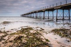 Saltburn& x27;s Victorian Pier Royalty Free Stock Photography