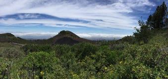Salte en el top de la isla de Gran Canaria Fotos de archivo
