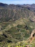 Salte en el top de la isla de Gran Canaria Fotos de archivo libres de regalías