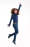 Salte para la alegría Imagen de archivo