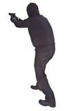 Salteador que aponta com seu injetor Imagem de Stock Royalty Free