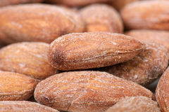 Salted almonds Stock Images