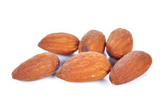 Salted almonds nuts Stock Photography
