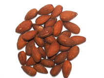 Salted Almonds Royalty Free Stock Images